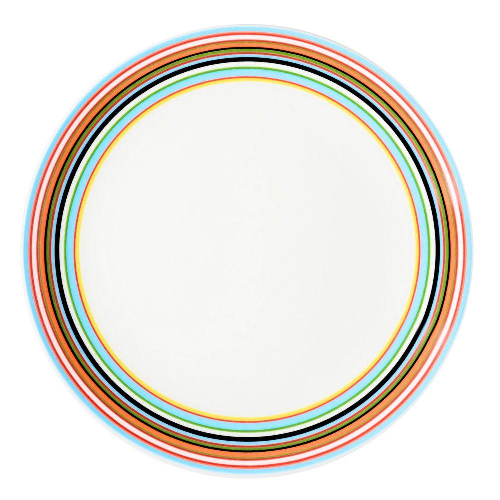 1000x1000 Origo Plate, Small, Orange