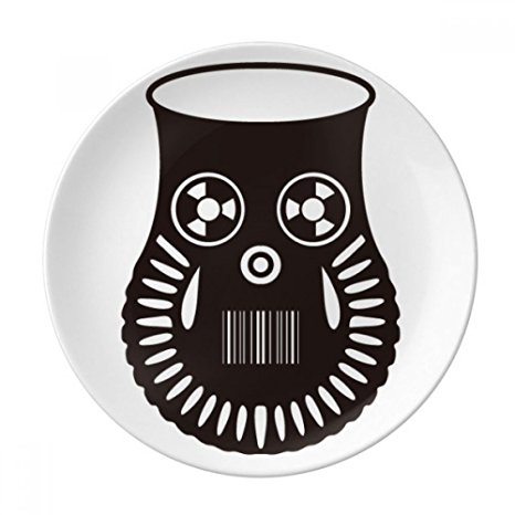 466x466 Air Pollution Cute Gas Mask Silhouette Decorative