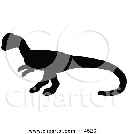 450x470 Royalty Free (Rf) Dino Silhouette Clipart, Illustrations, Vector