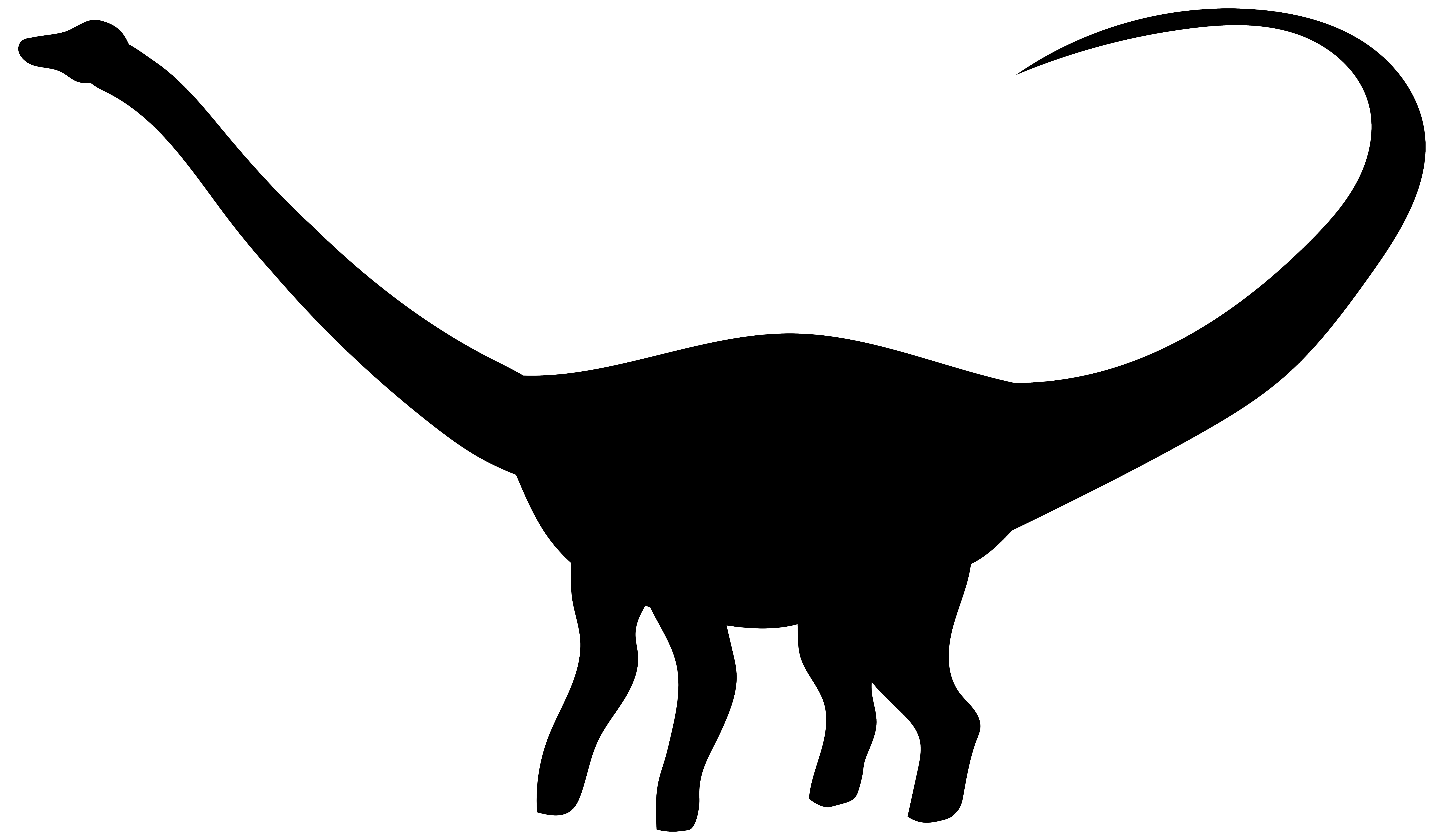 8000x4668 Dinosaur Silhouette Png Transparent Clip Art Imageu200b Gallery