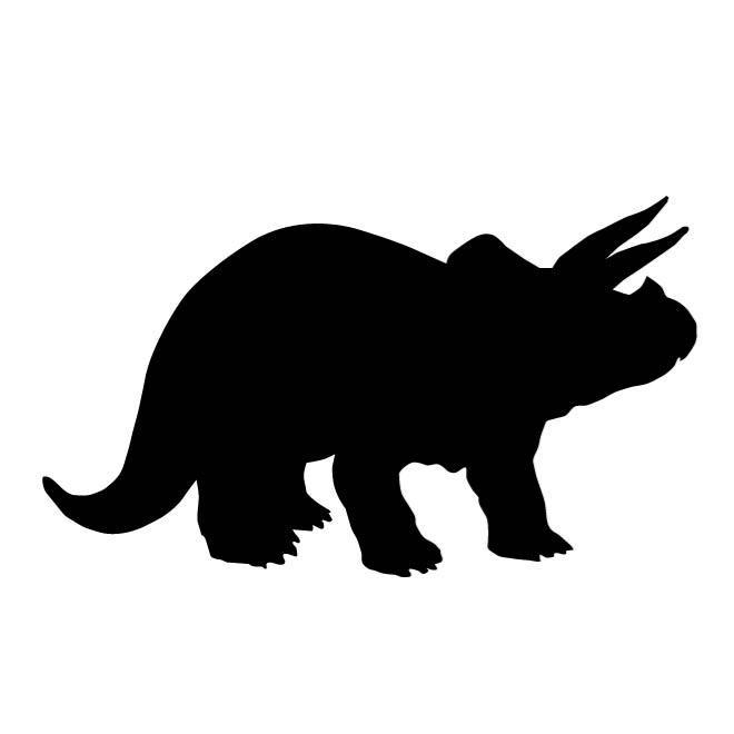 660x660 Dinosaur Silhouette Clip Art
