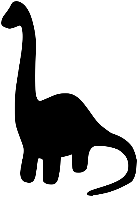 463x660 Herbivore Dinosaur Silhouette Other Silhouettes