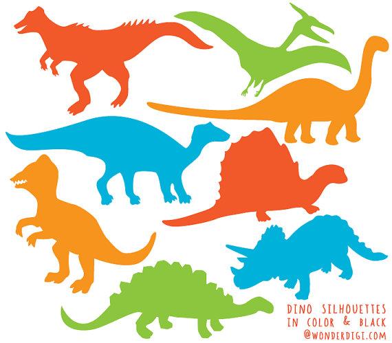 570x499 Dinosaur Clipart Dinosaurs Silhouette Clip Art Dino