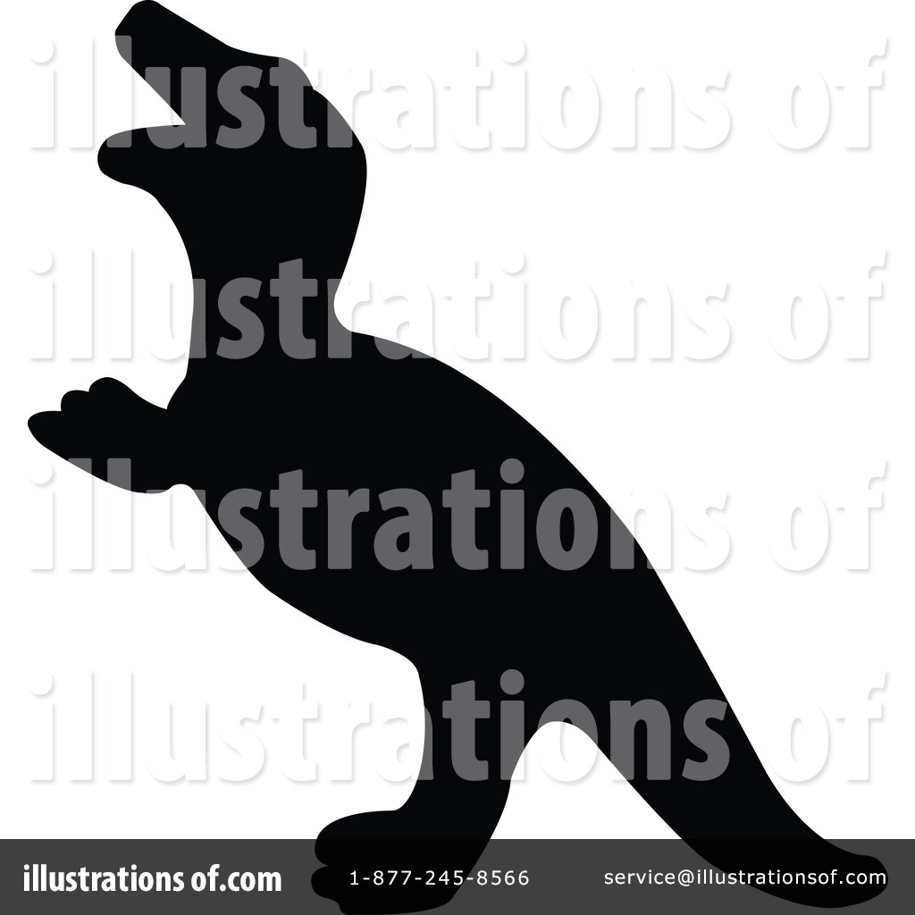 1024x1024 Dinosaur Silhouette Clipart