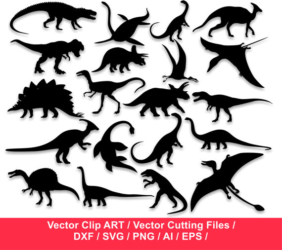 570x507 Dinosaurs Silhouettes Dinosaurs Clipart Dinosaurs Svg