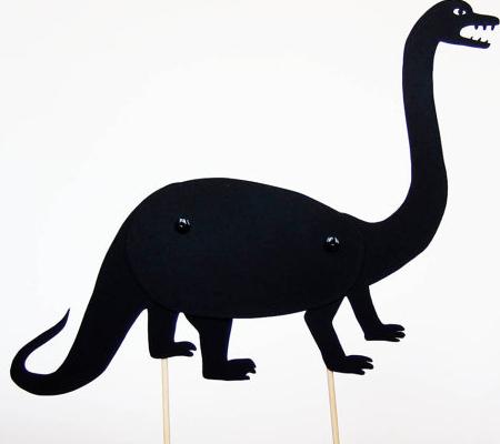 Dinosaur Silhouette Printable