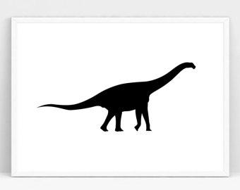 340x270 Dinosaur Silhouettes Etsy