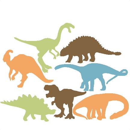 432x432 Dinosaur Illustrations
