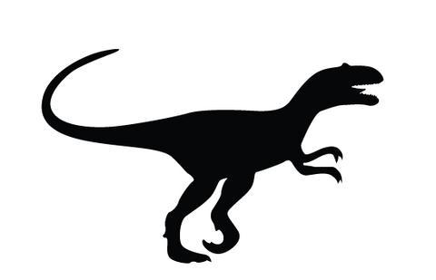 480x309 Dinosaur Silhouette Vector Silhouettes Vector