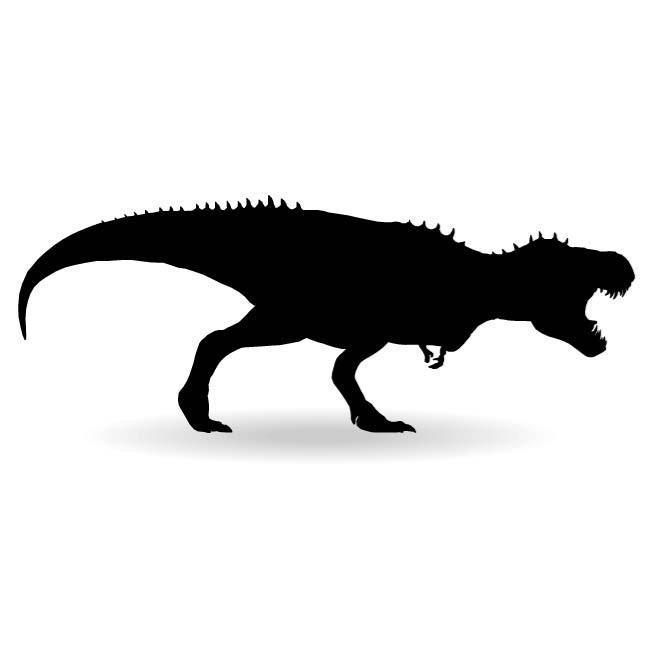 660x660 Dinosaur Silhouette