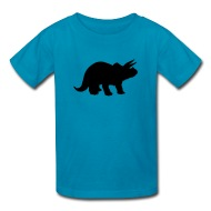 190x190 Triceratops Dinosaur Silhouette By Azza1070 Spreadshirt