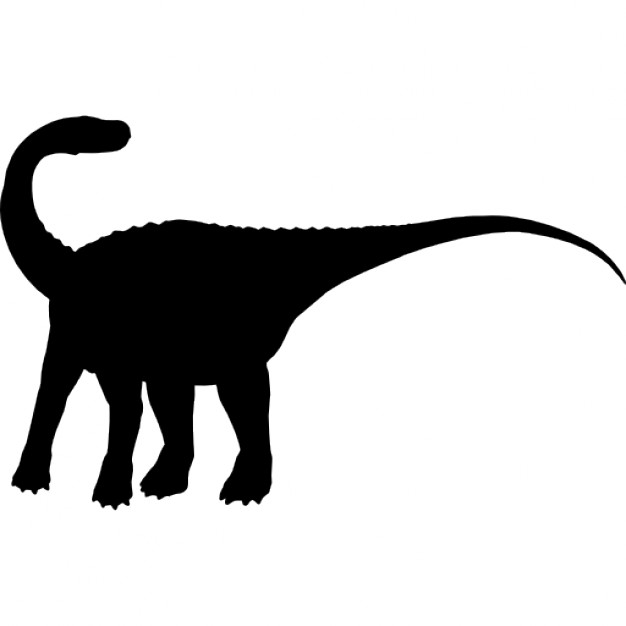 626x626 Magyarosaurus Dinosaur Shape Icons Free Download
