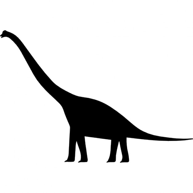626x626 Dinosaur Shape Of Brachiosaurus Icons Free Download