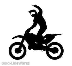 300x275 Cool Dirtbike Sticker Dirt Bike Mx Fmx Motocross Trail Motorcycle