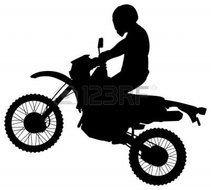 211x190 Dirt Bike Silhouette Clip Art Free Free Image