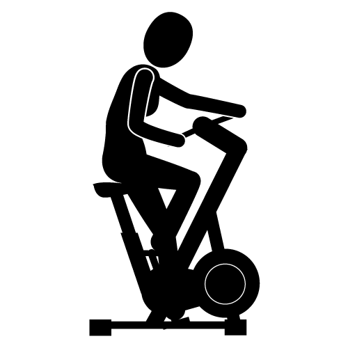 500x500 Excercise Bike Clipart