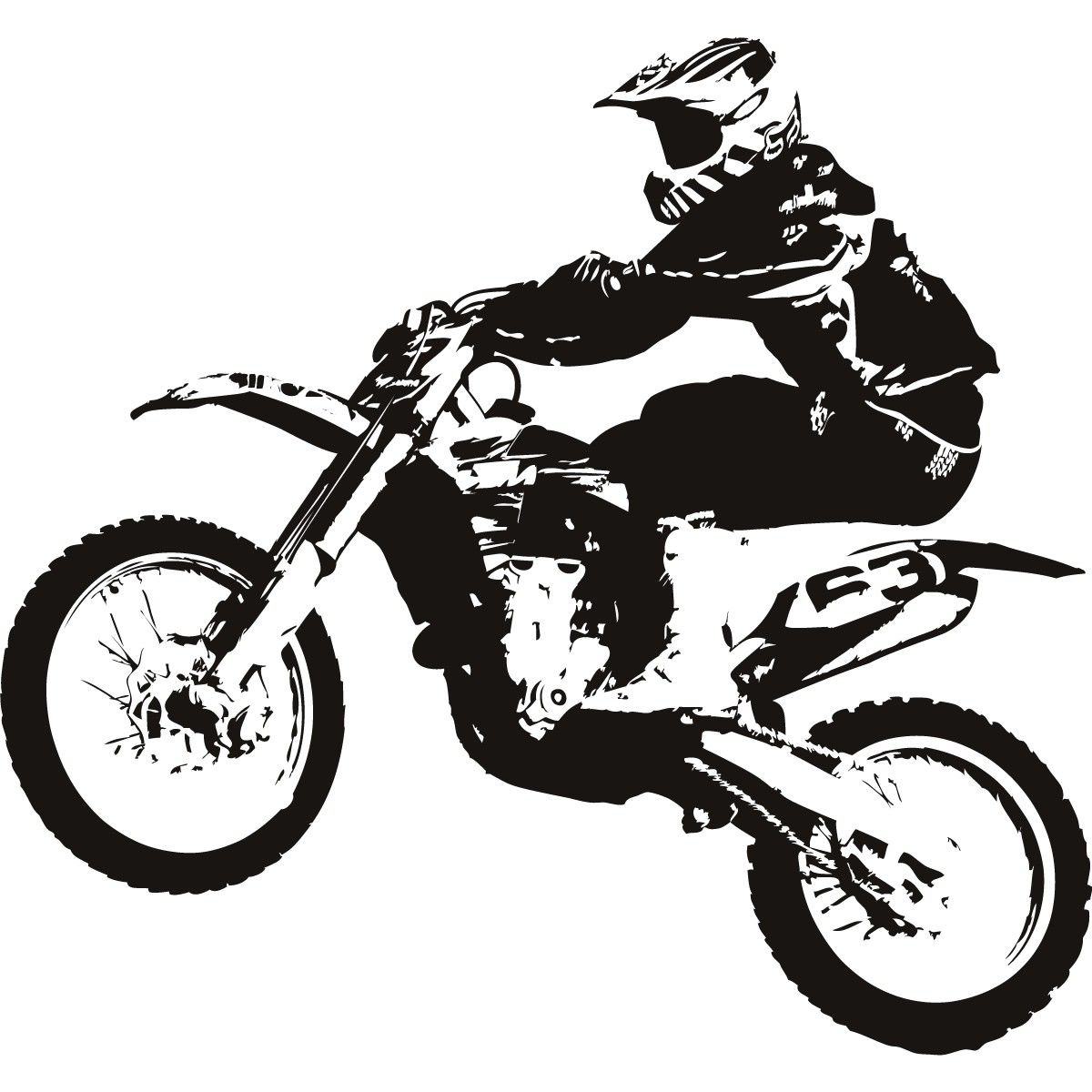 1200x1200 Free Download Motocross Bike Clipart For Your Creation. Motor