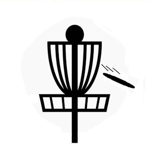 Disc Golf Basket Silhouette