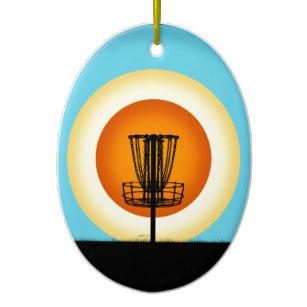 307x307 Disc Golf Basket Ornaments Amp Keepsake Ornaments Zazzle