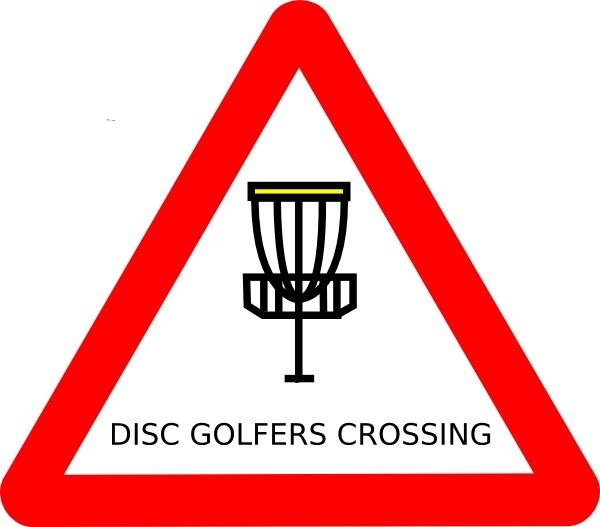 600x527 Mat Cutler Disc Golf Roadsign Clip Art Free Vector In Open Office