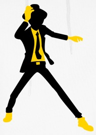 190x267 Disco Dancer Silhouette 2c  2012 By Funny Slogan T Shirts