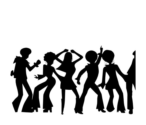 600x512 Disco Dancers Cameo Discos, Dancers And Disco Party
