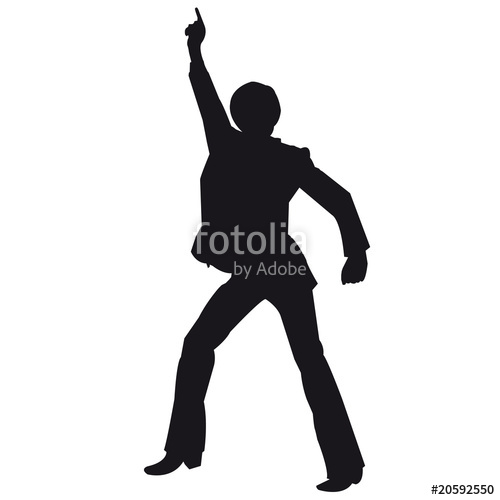 500x500 Disco Silhouette Stock Image And Royalty Free Vector Files