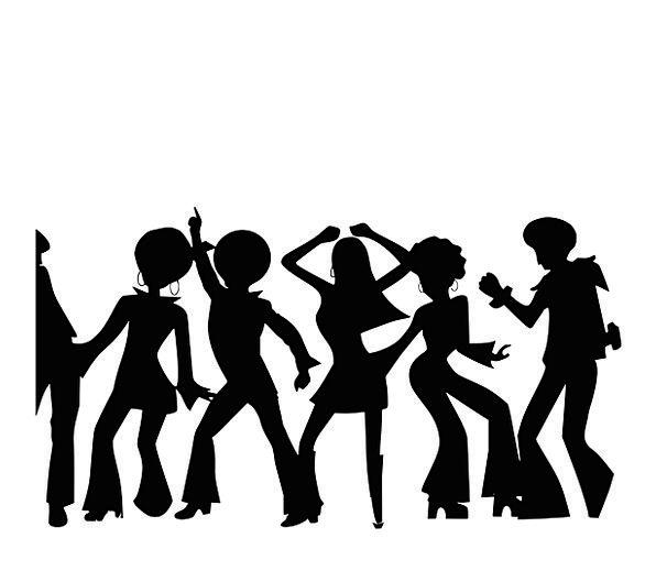 596x519 Disco, Bop, Public, Dancing, Bopping, People, Party, Gathering