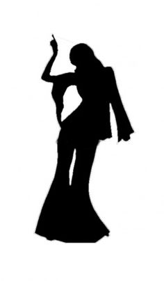 236x404 Disco Silhouette Girl Svg And Templates Discos