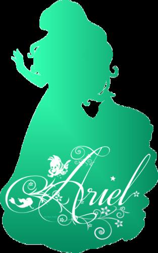 313x500 Disney Princess Images Ariel Silhouette Hd Wallpaper