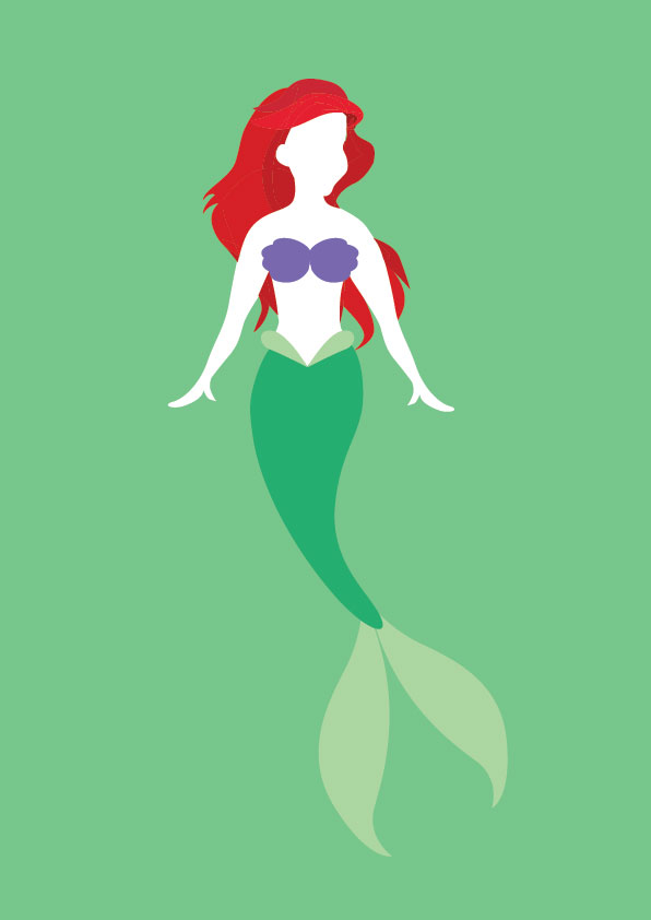 596x842 Disney Princesses 2 Ariel By Alicewieckowska
