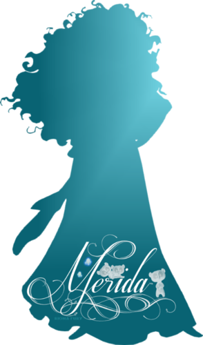 294x500 Disney Princess Images Merida Silhouette Wallpaper And Background
