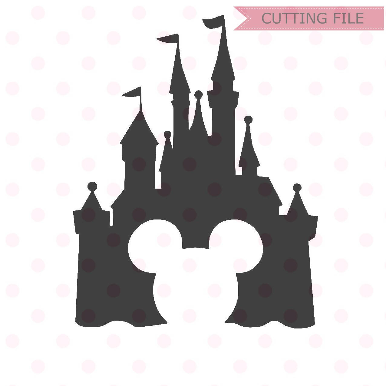 Disney Castle Christmas Svg.Disney Castle Silhouette At Getdrawings Com Free For