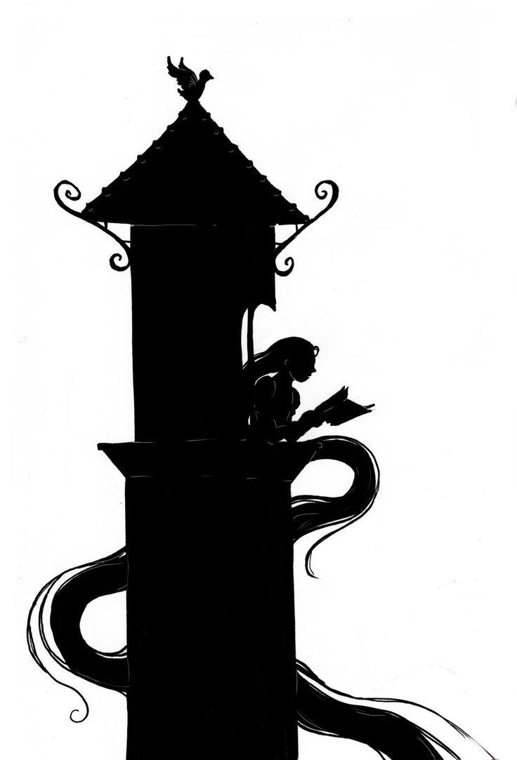 736x1083 Grimm Fairy Tales Rapunzel's Tower