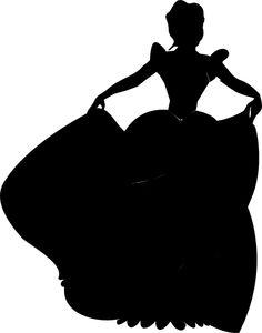 236x300 Cinderella Silhouette Clipart