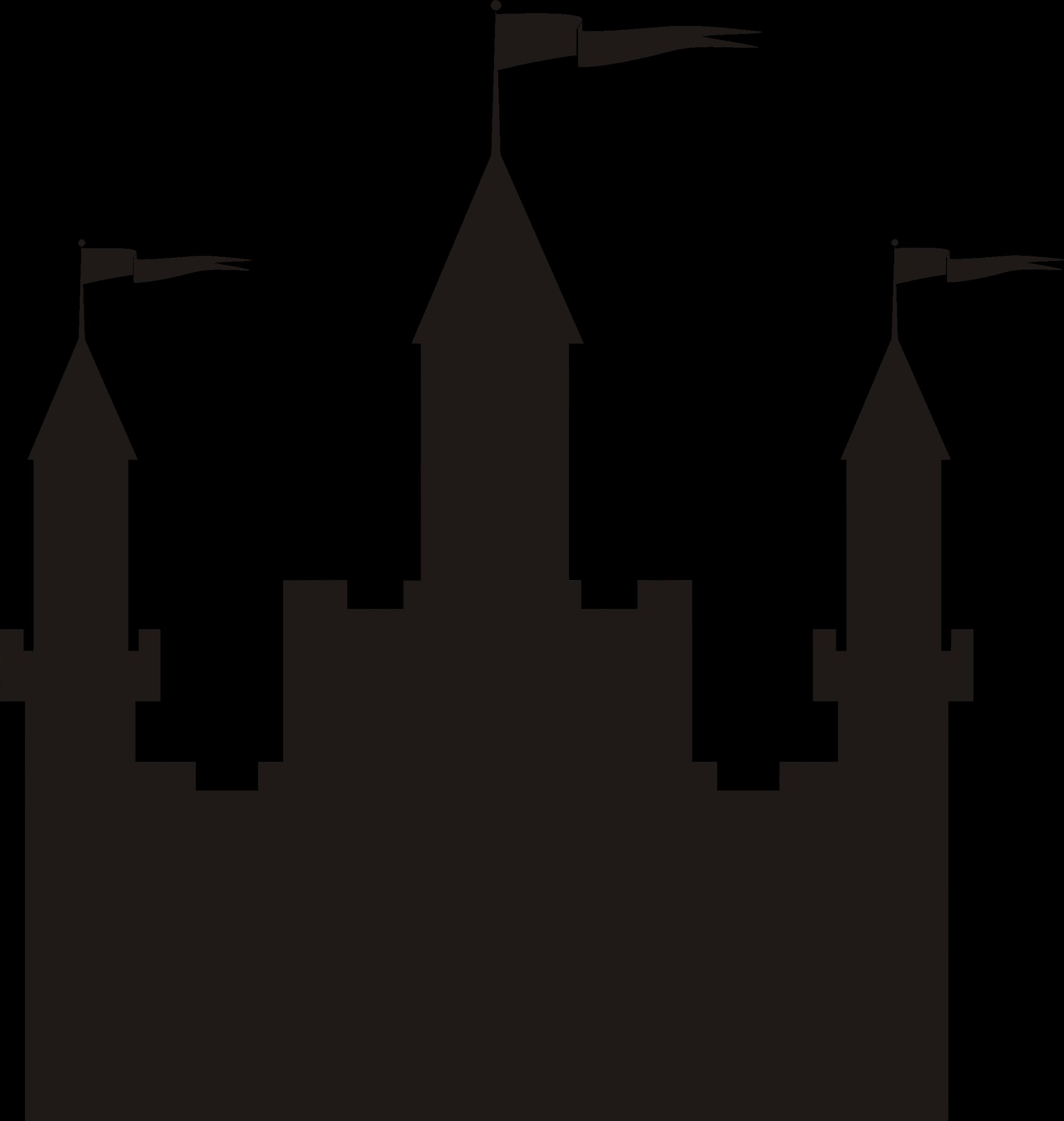 2255x2375 Clipart Castle Silhouette Collection