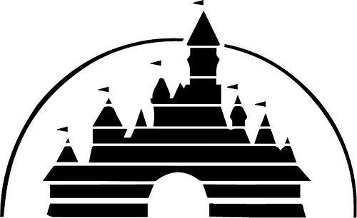 Disney Castle Silhouette Clip Art At Getdrawings Com