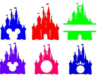 340x270 Disney Castle Svg, Disney Svg, Disney Monogram Svg, Princess