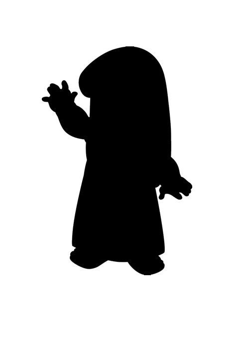 Disney Character Silhouette