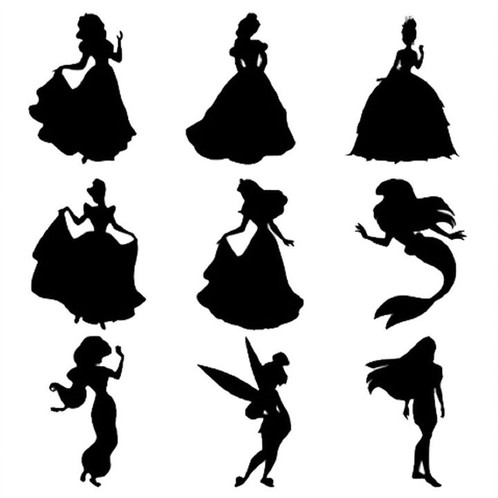 498x498 Disney Character Decal Asiegelvinyldesigns