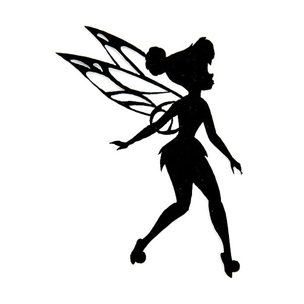 600x600 Disney Fairies Iron Appliques Tinkerbell Silhouette Liked