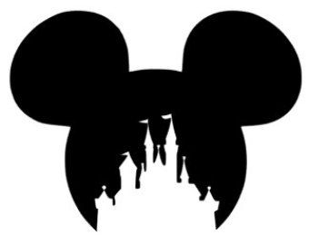 340x270 Disney Home Clipart Black And White Amp Disney Home Clip Art Black