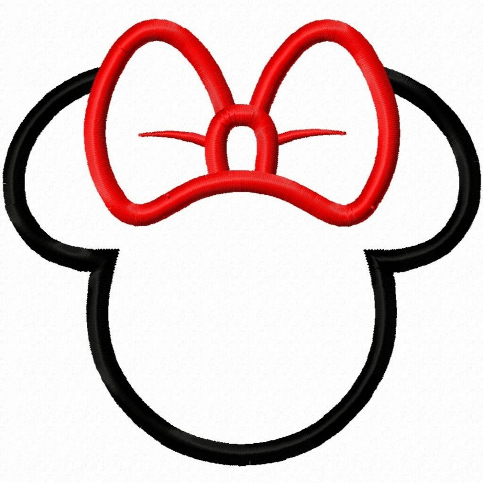 940x940 Minnie Mouse Bow Silhouette Clip Art