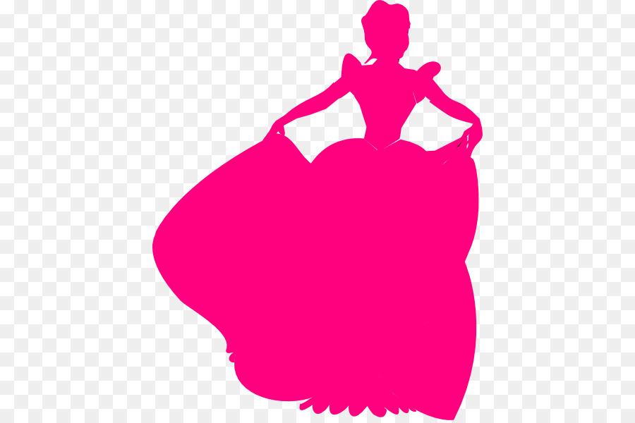 900x600 Cinderella Belle Disney Princess Silhouette Clip Art