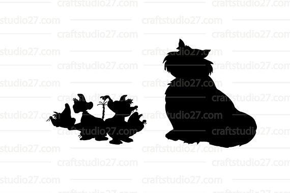 570x380 Digital File Direct Download Disney Cinderella Mice And Lucifer