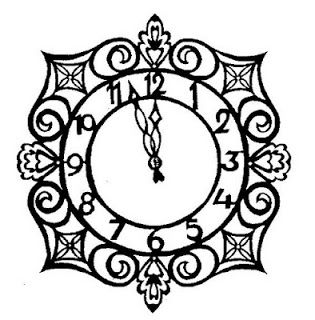 315x320 Music Clock Inkspired Musings Nursery Rhyme Time With Hickory