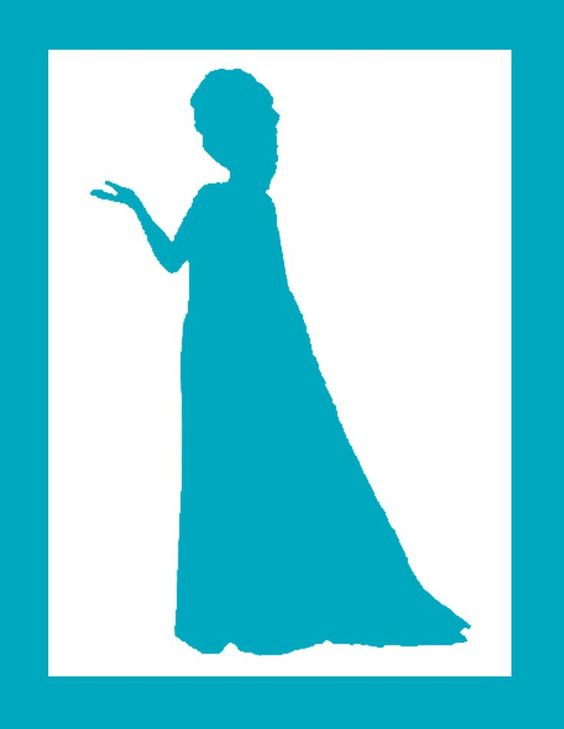 564x729 Disney Frozen Silhouettes Via Homeiswherethemouseis Home Ideas