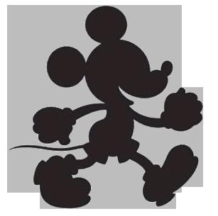 307x305 Mickey Mouse Graph Chart Pattern