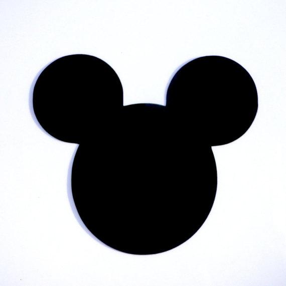 570x570 4 Mickey Mouse Head Ears Die Cut Disney's Mickey