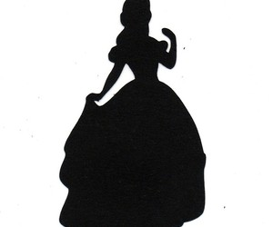 Disney Princess Belle Silhouette